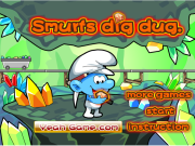 Smurfs Dug Treasures